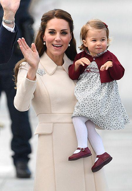 Принцесса Кейт и Шарлотта