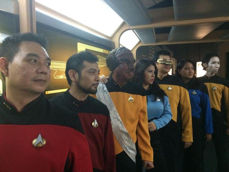 20140712 : Costume Invasion Day - TNG crew , tks to Cmdr Hilmy.