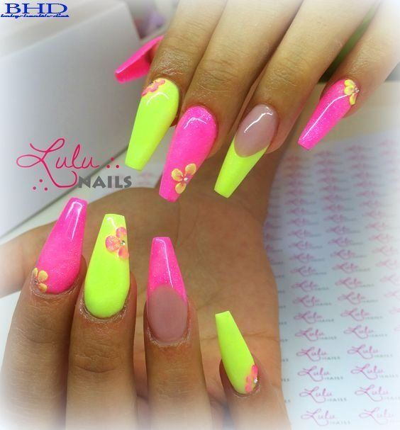 Top 22 Neonnagellacke 2019 – Nageldesign 2018