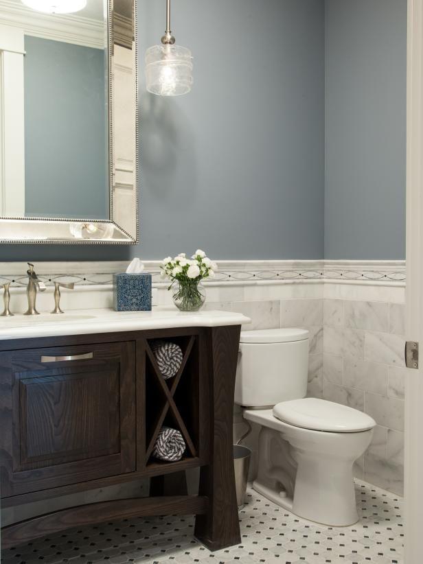 15 Ways To Refresh Your Walls On A Budget Bathroom Mirror