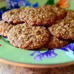 Chewy brown sugar and oatmeal cookies… yummmm