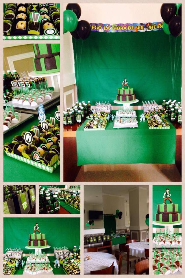 Festa Ben 10.   #ben10party #festaben10 #giovannajuliao
