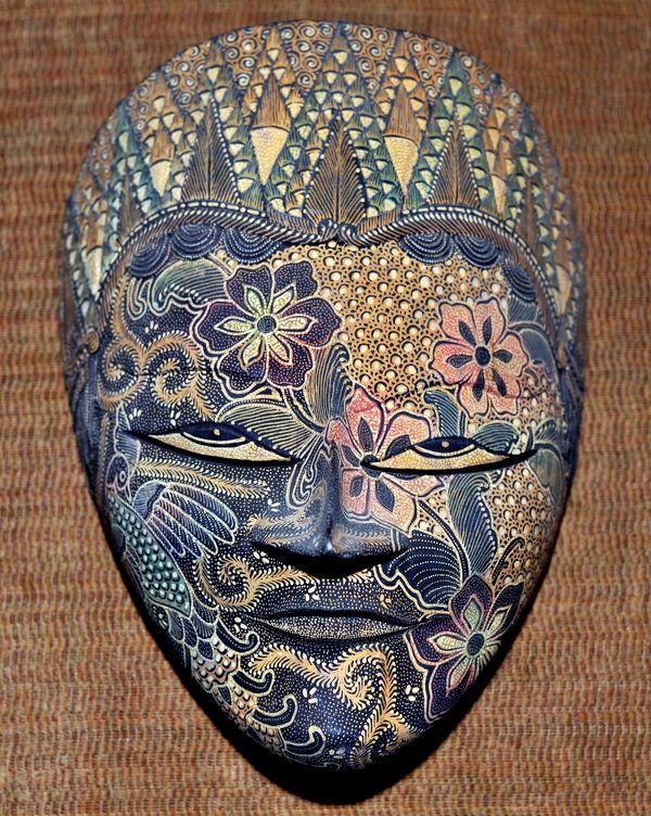 Batik Mask   Topeng