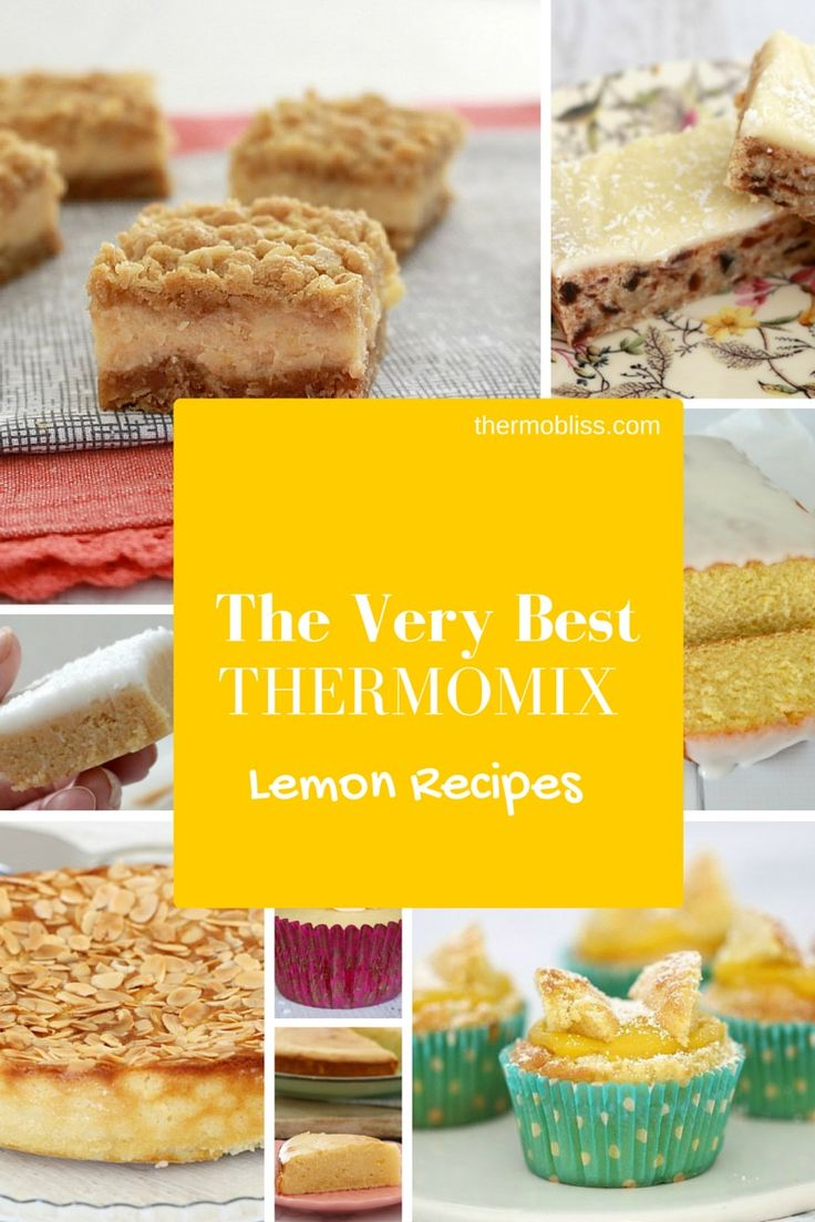 Thermomix Lemon Recipes