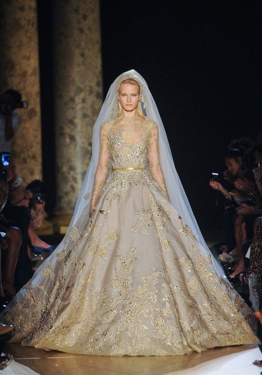 Elie Saab Fall 2012 Couture Runway - Elie Saab Haute Couture Collection