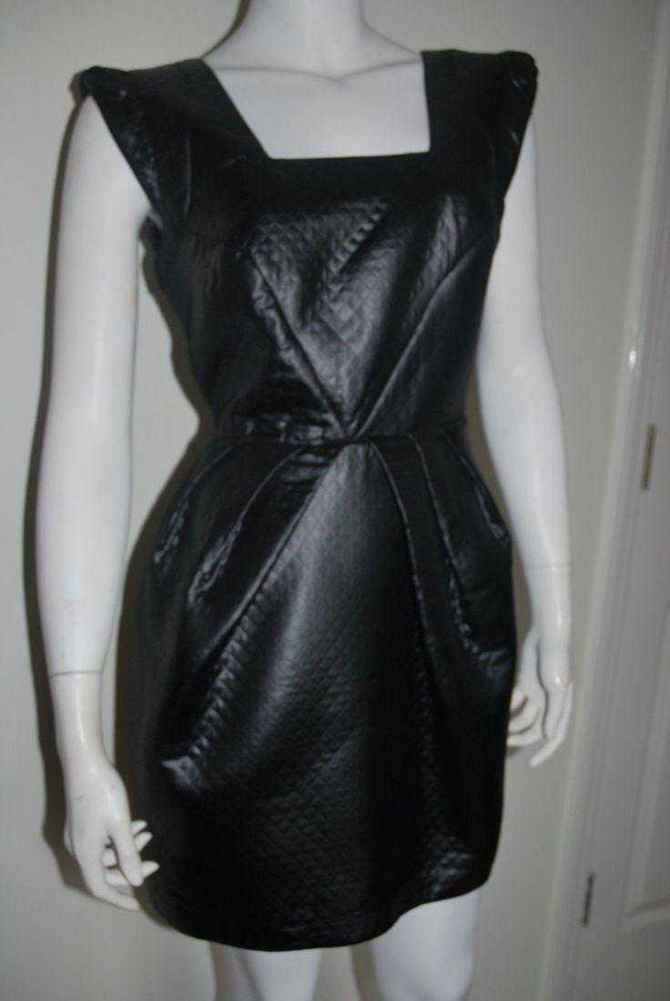 Black dress elegant island
