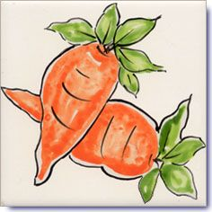Vegetables Tile Designs