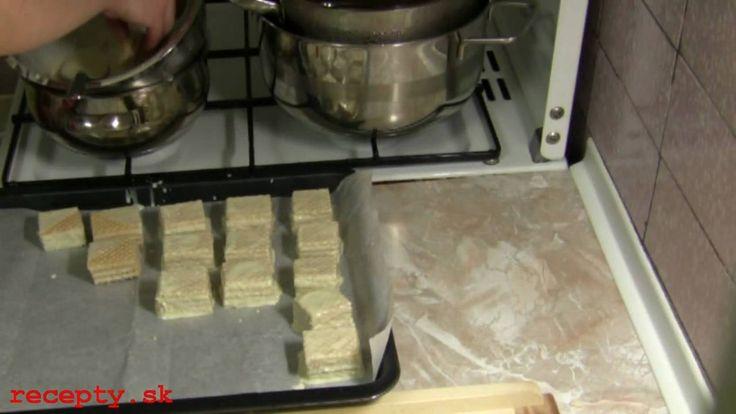 Recepty sk: Kokosová griláž