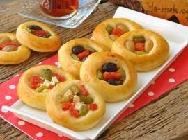 Pastane Usulü Minik Pizza