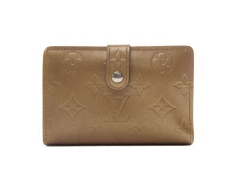 Authentic Louis Vuitton Vernis Bronze Porte-monnaie billets Viennois wallet
