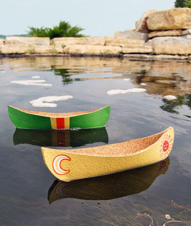 How To Make a Cork Canoe