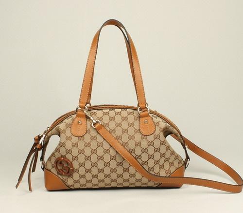 Bolsa Gucci - Brick Lane Caramelo    - www.modagrife.com