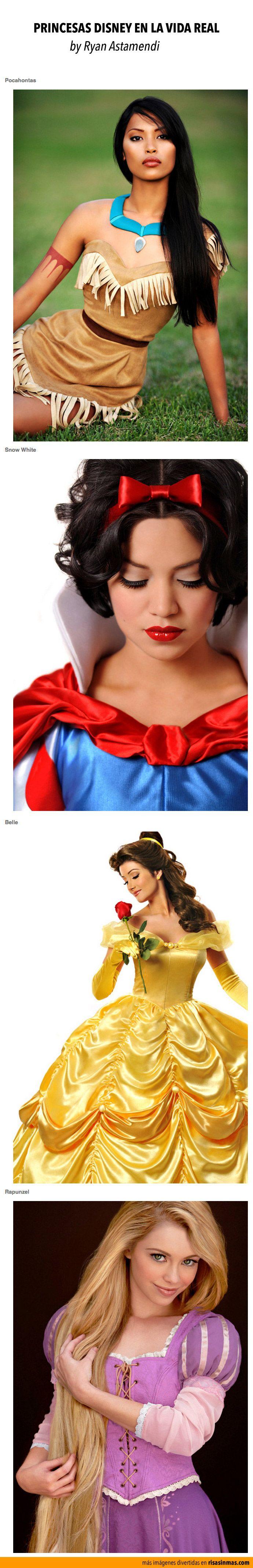 Princesas Disney en la vida real. Por Ryan Astamendi.                                                                                                                                                                                 Más