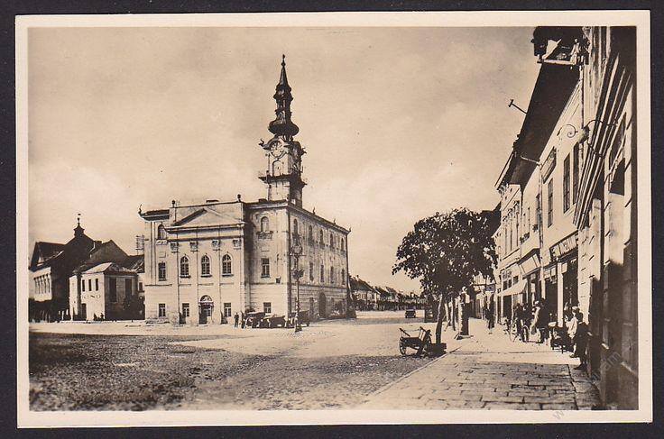 Slovensko, Kežmarok, Městský dům, cca 1930POHLEDNICE - Pohlednice