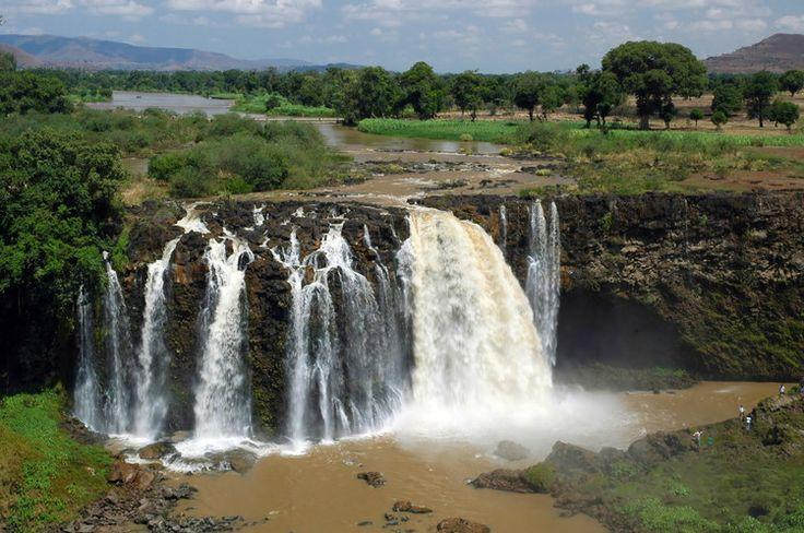 Chute du Nil bleu en Ethiopie : Les chutes d'eau les plus spectaculaires du monde - Linternaute.com Voyager
