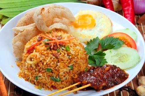 Nasi Goreng, major yum!