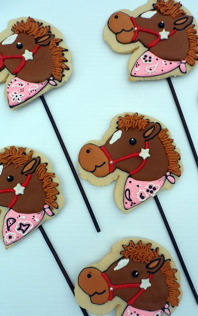 stick horse cookies