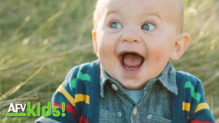 Babies Laugh Their Hearts Out | NEW Babies Laughing Compilation | AFV Kids