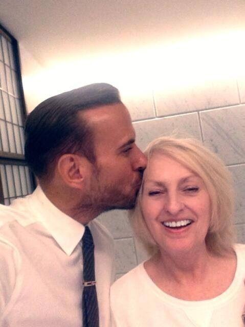 Ahhh, Matt and his lovely Mum. Rest in peace Carol. We all love you. Matt Goss his mum ❤️ #love