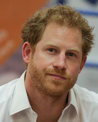 Prince Harry during a visit to the Double Jab Boxing Club in South East London on June 6, 2016 to support Sport for Social Development initiatives.