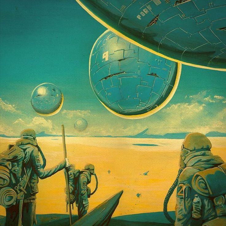 10 Cool Sci Fi Retro Artworks: Sci Fi, Science Fiction Art