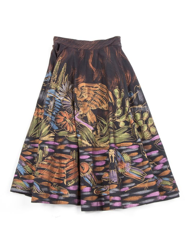 Hand painted vintage skirt on R29Shops!