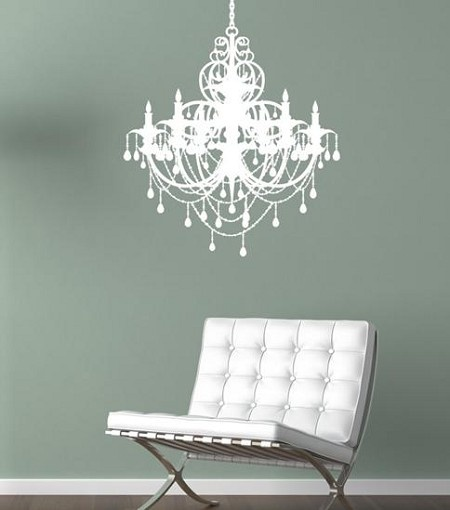 19 best chandelier decal images on pinterest chandeliers buy your chandelier wall decal by alphabet garden designs here add a touch of class to your little girls bedroom with this chic chandelier wall decal from aloadofball Gallery