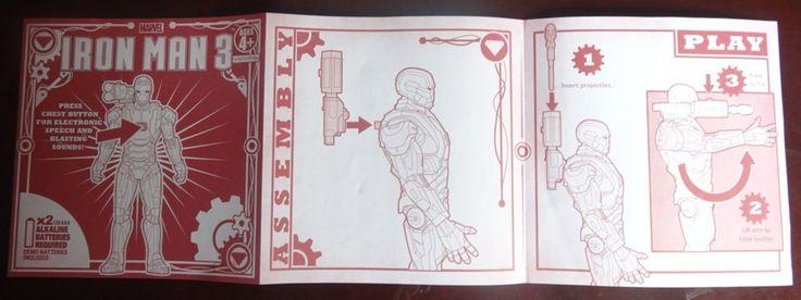 Guia de instrucciones Iron Man Patriota