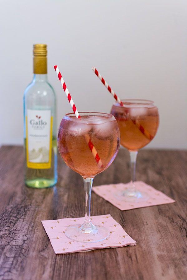 Recette de Cocktail au vin blanc Gallo Family