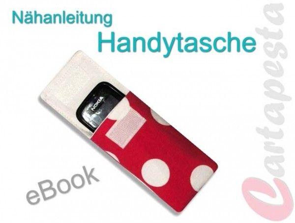 Nähanleitung Handytasche E-Book