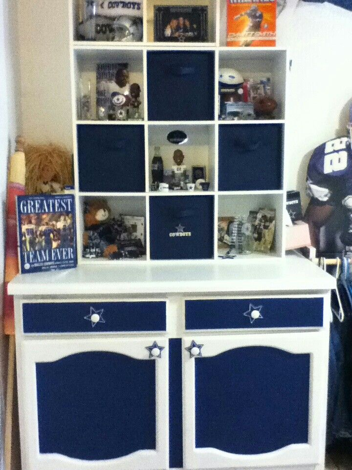 Dallas Cowboy Shelving For Room Dallas Cowboys Pinterest
