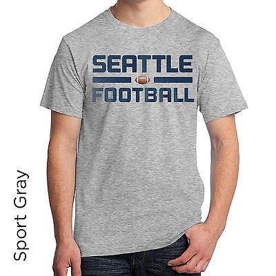 Seattle Football Graphic T-Shirt SL188