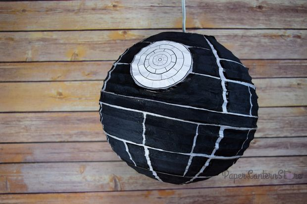 Picture of Death Star DIY Paper Lantern