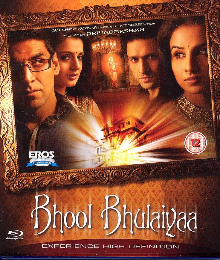 Amazon.com: Bhool Bhulaiyaa [Blu-ray]: Akshay Kumar, Vidya Balan, Shiney Ahuja, Amisha Patel, Paresh Rawal, Rajpal Yadav, Vikram Gokhale, Manoj Joshi, Priyadarshan: Movies & TV