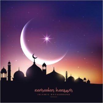 free vector Creative Ramadan Kareem Background