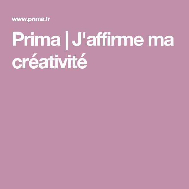 Prima | J'affirme ma créativité