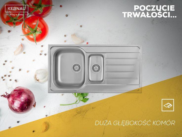#Kernau to polska marka, która stawia m.in. na wygodę! 👏 Nie inaczej jest w przypadku zlewozmywaka, którego wyróżnia duża głębokość komory. To ona odpowiada za ergonomię produktu i ułatwia jego codzienne użytkowanie:  http://bit.ly/Kernau_KSSG60415B1DLINEN