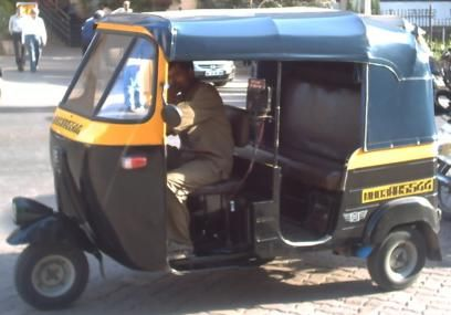 Autorickshaw in Mumbai.  #taxi #India