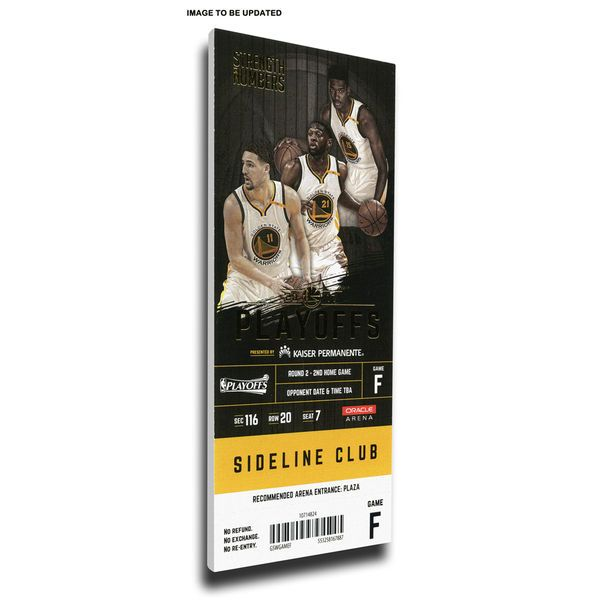 Cleveland Cavaliers vs. Golden State Warriors 2017 NBA Finals Dueling Game 1 Small Mega Ticket - $69.99