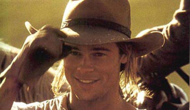 Brad Pitt in Legends of the fall!! Back when he was still good lookin!