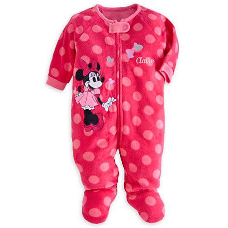 Minnie Mouse Blanket Sleeper for Baby - Personalizable   Blanket Sleepers   Disney Store