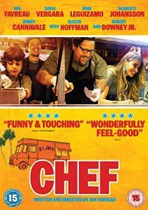 Jon Favreau writes, directs, co-produces and stars in this film!  Phew!  He plays Carl Casper, a top chef whose creativity is being stifled by the owner of the restaurant where he works.  Following some negative reviews and Twitter bust-up with his critics he quits and strikes out on his own, taking charge of a food truck in which he tours the country rediscovering his passion for food and for cooking.