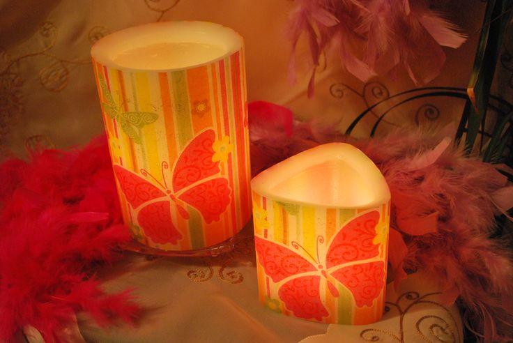 Κεριά φαναράκια (βάζετε μέσα ρεσώ)