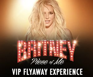 Wow! Enter the Britney Spears Piece of Me VIP Flyaway Sweepstakes for a chance to Win a Trip for two to See Britney Spears Perform in Las Vegas, NV. Prize includes airfare, hotel, VIP tickets, $200 gift card and more. Sounds like fun!  Ya gotta be Ages 21+ to enter and just enter by 8/30/17!  Done!  How about you? http://ifreesamples.com/win-trip-two-see-britney-spears-las-vegas/