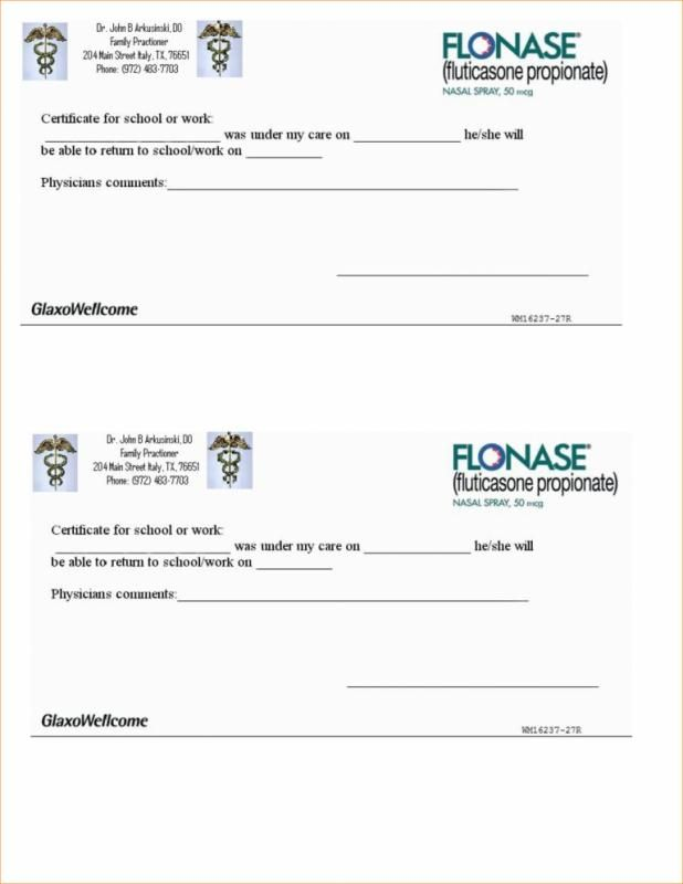 Doctors Notes For Work Fake Doctors Note Pdf Doctors Note Template Doctors Note Dr Note For Work