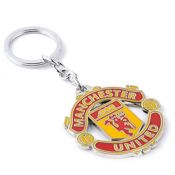 2016 New arrival Manchester Key Ring High Quality FC Manchester City Club Team Football Key Chain Great gift for football funs
