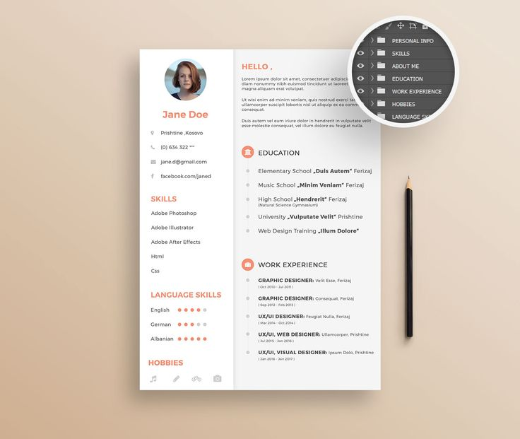 25 best Free Resume Templates images on Pinterest Free resume - creative free resume templates