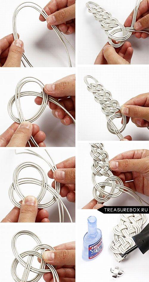 привлечения денег как правильно завязать узел на браслете из бусин между клеммами
