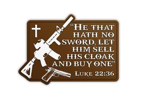 Luke 22:36 - Morale Patch
