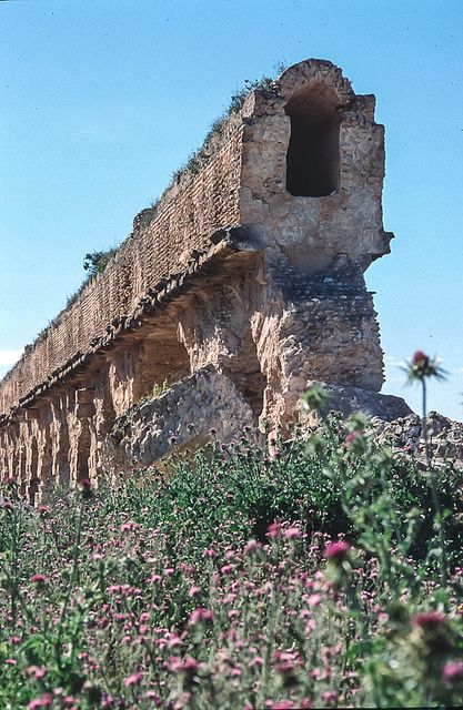 Aqueduc romain de Zaghouan, Tunisie | Flickr - Photo Sharing!